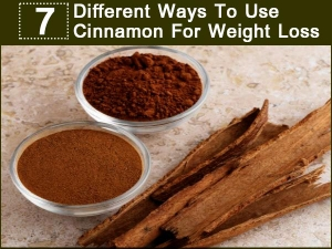 Different Ways Use Cinnamon Weight Loss