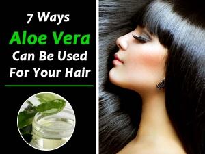 Use Aloe Vera Hair Car