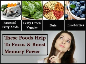 These Foods Help Focus Boost Memory Power