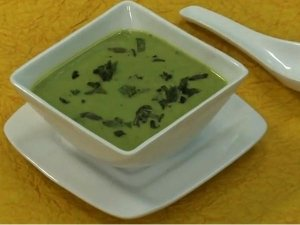 Green Peas And Mint Soup Recipe