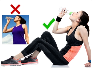 Is It Bad Drink Water While Standing
