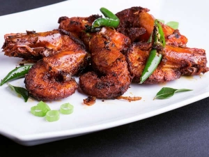 Spicy Prawn Fry Recipe