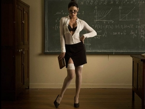 School Where Teachers Wear Bikini And Teach