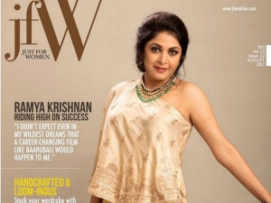 Ramya Krishnan Stunning Cover Photo