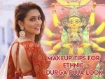 Durga Puja Special Step By Step Guide To Carry The Traditional Bengali Look With White Red Saree