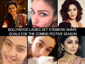Eyebrow Shape Goals From Bollywood