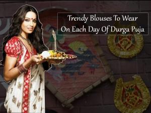 Perfect Blouse Designs Fit Durga Puja Days