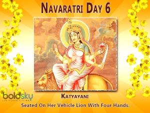 Navratri Special Navratri 6th Day Puja Mantra
