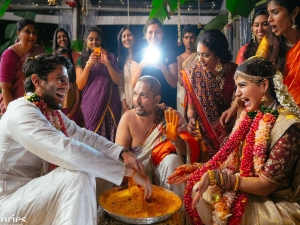Chaysam Marriage Chaitanya Samantha S Wedding Looks Stunned