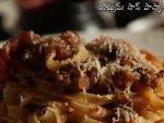 Mushroom Sauce Pasta
