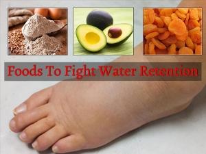 Fruits Vegetables Treat Liquid Retention