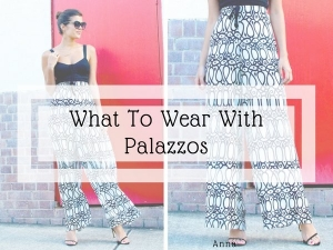 Seven Outfits To Wear With Palazzo Pants