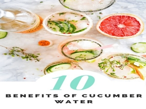 Benefits Of Cucumber Water In The Morning
