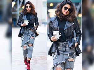 Priyanka Chopra New Trend Quantico Shoot