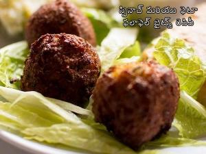 Spinach And Feta Falafel Bites Recipe