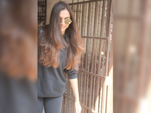 Deepika Padukone Spotted At Dubbing Studio Wearing Casuals