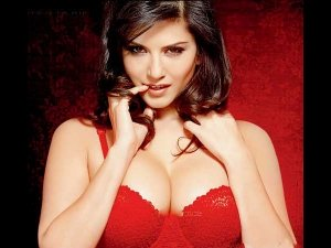 Andhra Farmer Puts Up Sunny Leone Poster To Protect Crops From Evil Eye