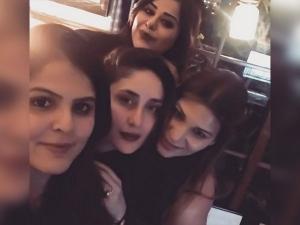 Kareena Kapoor At All Black Themed Party