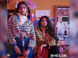 Rheson 80s Fashion Campaign