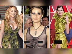 Oscars Wardrobe Malfunctions Blanca Blanco Emma Stone Other Celebs Who Flashed More They