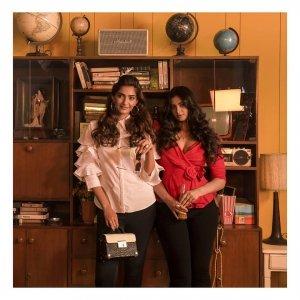 Sonam And Rhea Are Killing It The Latest Retro Collection Of Rheson