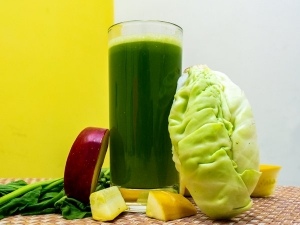 Cabbage Apple Juice For Weight Loss And Gut Health
