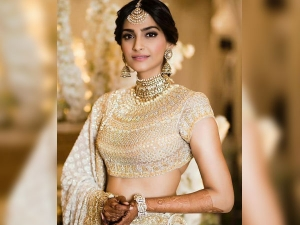 Sonam Looked Divine In Her Official Sangeet Ceremony