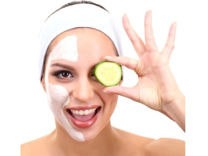 Coconut Oil And Cucumber Face Pack For Dry Skin