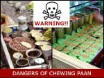 Dangers Of Chewing Betel Nut
