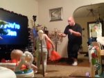 Video Of Dad Dancing With Kids When Alone