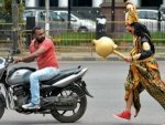 Viral News India Do Not Break Traffic Rules Yamaraj Warns You
