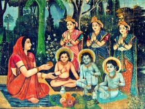 Atri Maharishi His Wife Mata Anusuya Devi Story