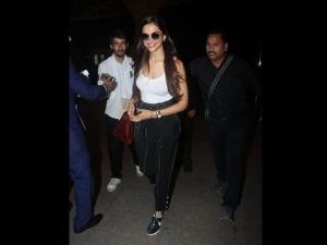 Deepika Padukone S Latest Airport Look Will Knock Your Socks