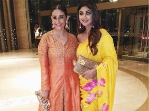 Shilpa Shetty Manisha Koirala S Ethnic Outfits Are Guarantee