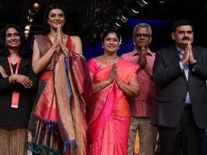 Sushmita Sen Showstopper Sunitha Shanker Lakme Fashion Week