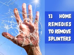 13 Painless Home Remedies To Remove Small Trapped Particles Inside Skin