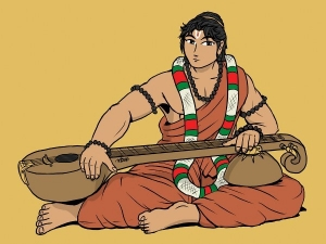 The Story Of Lord Vishnu Narad Muni And The Rich Merchant