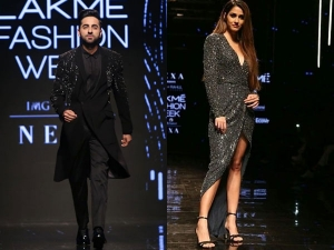 Disha Patani And Ayushmann Khurrana Create An Interstellar Moment At Lfw