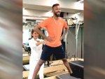 Ace Cricketer Hardik Pandya Loves Doing Pilates