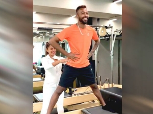 Ace Cricketer Hardik Pandya Loves Doing Pilates