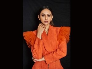 Rakul Preet Singh Sizzles In Orange Co Ord Set For The Cnbc