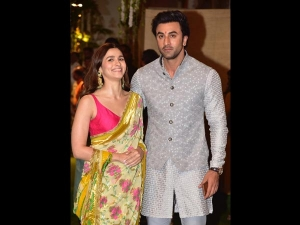 Alia Bhatt And Ranbir Kapoor At Ambani S Ganesh Chaturthi Celebrations