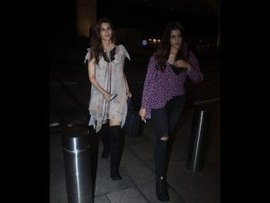 Virat Anushka And Kriti Nupur Sanon Have Coordinated Airport
