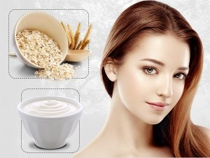 Oats And Curd Facepack For Skin Care