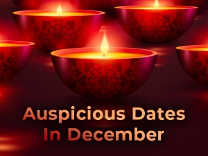 December 2019 12 Auspicious Dates That You May Not Be Knowing