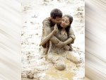 A Muddy Romance Picture Of A Couple Posing In Mud Leaves Netizens In Splits
