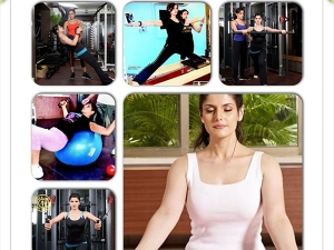 Actress Zareen Khan Diet And Workouts