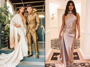 Stylish Priyanka Chopra Jonas With Nick Jonas At Grammy 2020