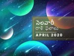 April 2020 Monthly Horosocope In Telugu