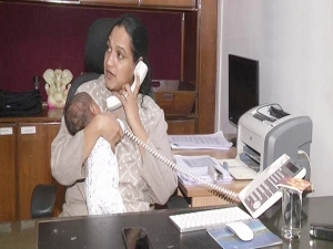 Month Old Baby In Arms Andhra Pradesh Ias Officer Back At Work
